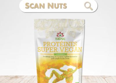 Iswari protéines super vegan bio