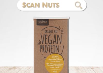 Purasana organic protéine banane mix