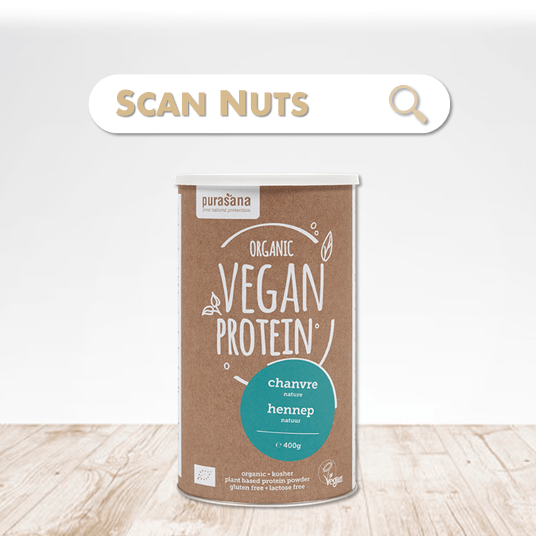 Purasana organic proteine chanvre scannuts