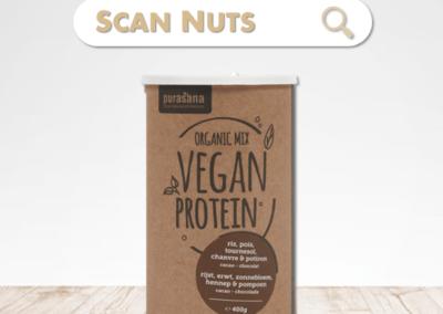 Purasana organic protéine chocolat mix