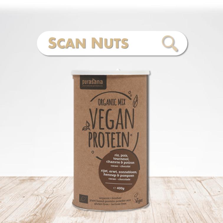 Purasana organic proteine chocolat mix scannuts