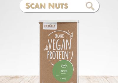 Purasana organic protéine pois
