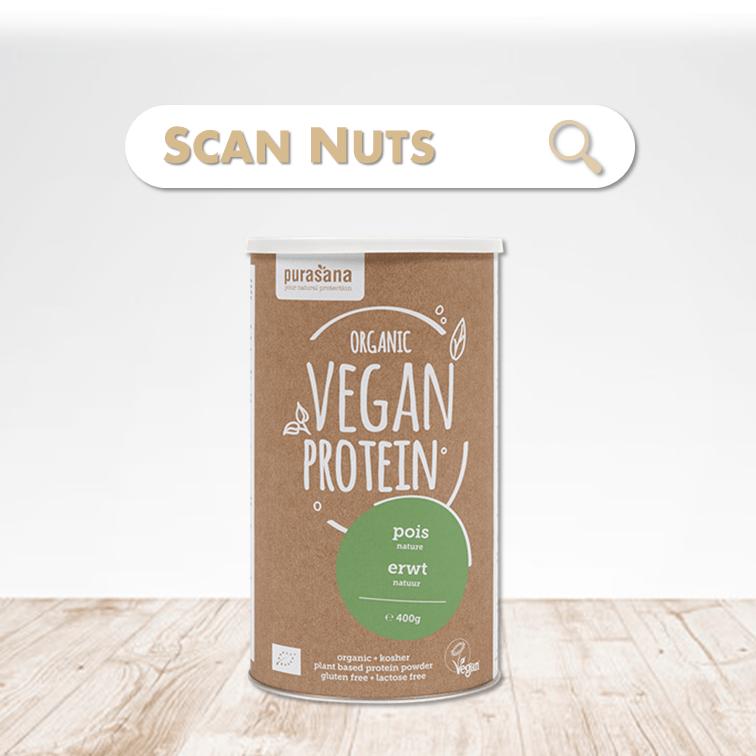 Purasana organic proteine pois scannuts