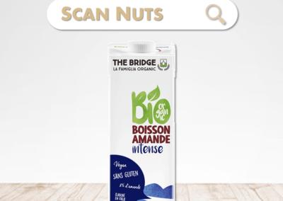 The Bridge bio amande intense boisson végétale