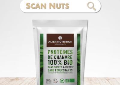 Alter Nutrition protéines chanvre bio