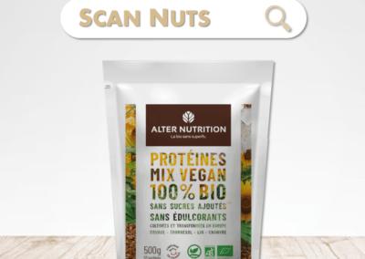 Alter Nutrition proteines mix vegan bio