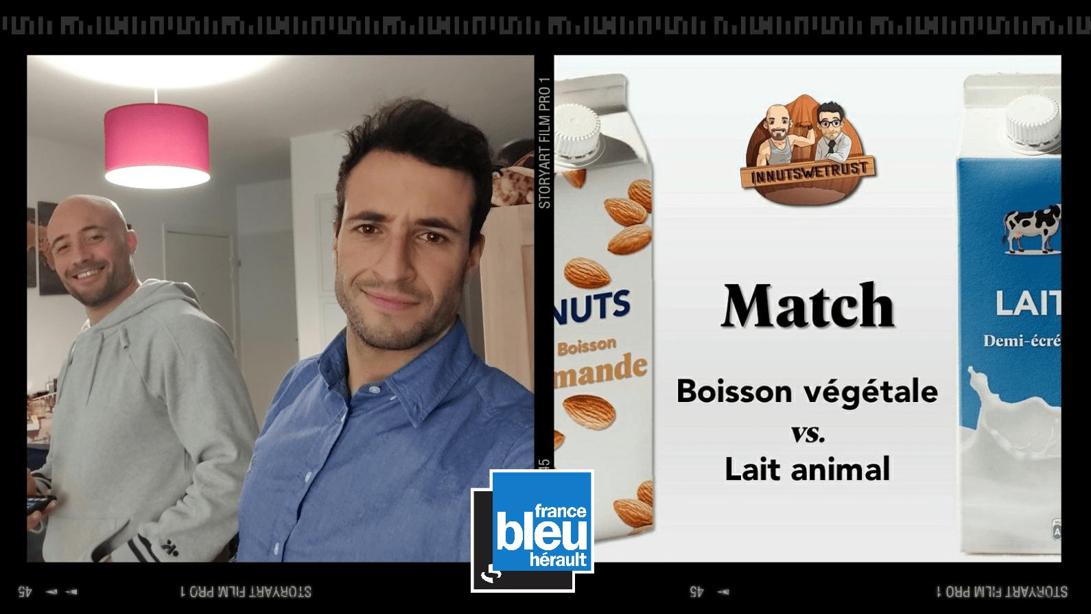 Innutswetrust france bleu hérault radio lait animal boisson végétale