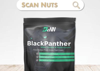 BeNN BlackPanther whey vanille