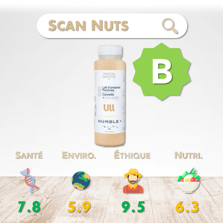 Humble plus ull protein smoothie score scannuts