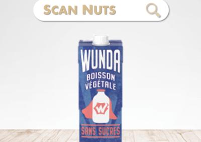 Nestlé Wunda sans sucres boisson végétale