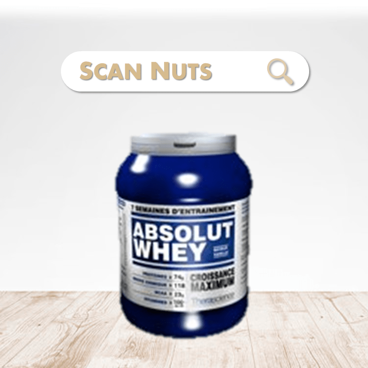 Therascience absolut whey chocolat scannuts