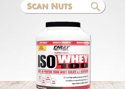 First Iron System iso whey 100 chocolate