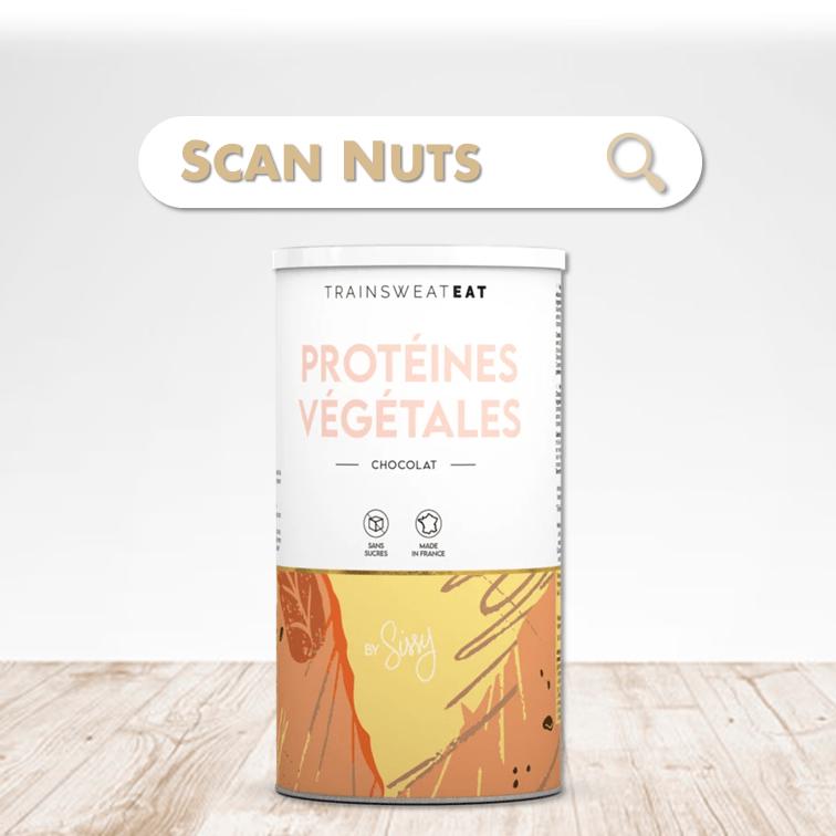 Sissy Trainsweateat protéines végétales chocolat scannuts